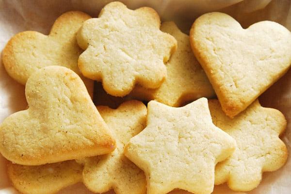 Bánh quy tinh dầu cam