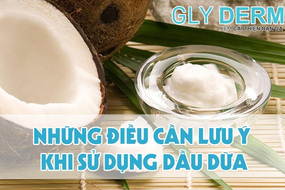 Một số lưu ý khi sử dụng dầu dừa để massage