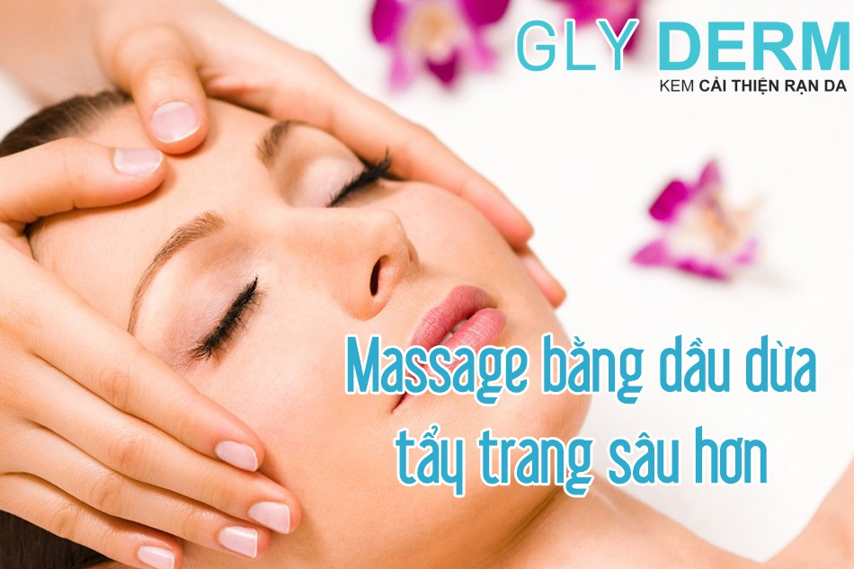Lợi ích khi massage bằng dầu dừa