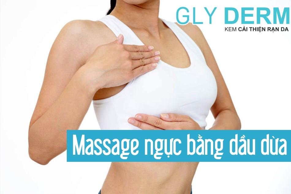 Massage ngực bằng dầu dừa có tăng kích thước vòng 1 không?