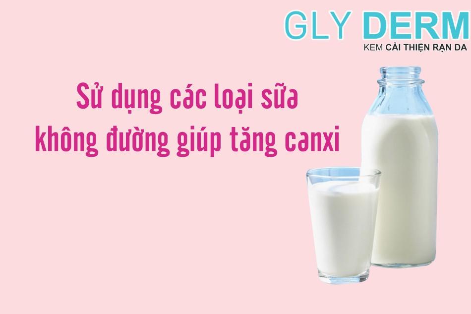 Sử dụng sữa không đường skincare bà bầu