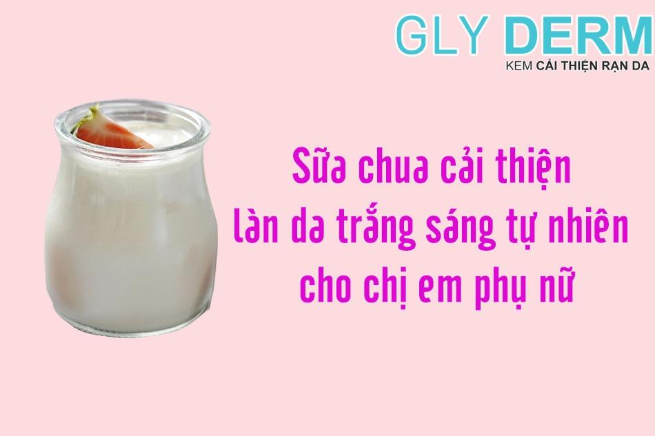 Sữa chua ít béo tốt cho làn da của bạn
