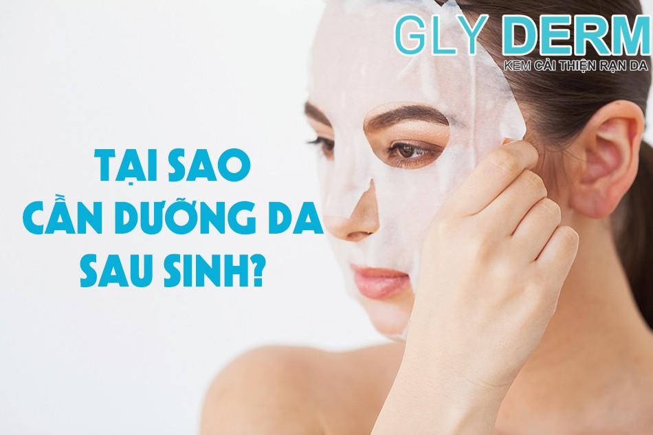 Tại sao việc dưỡng da sau khi sinh nở lại quan trọng?