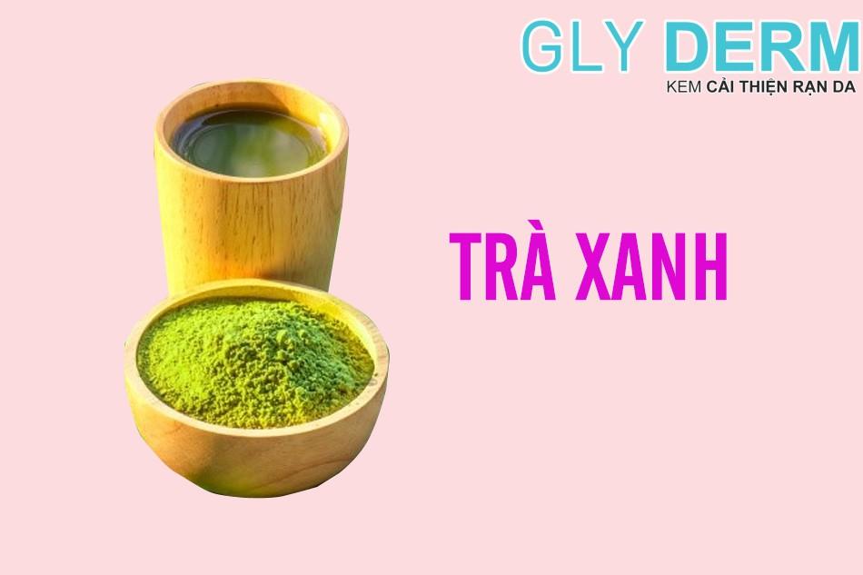Trong trà xanh chứa các chất chống oxy hoá tốt cho da