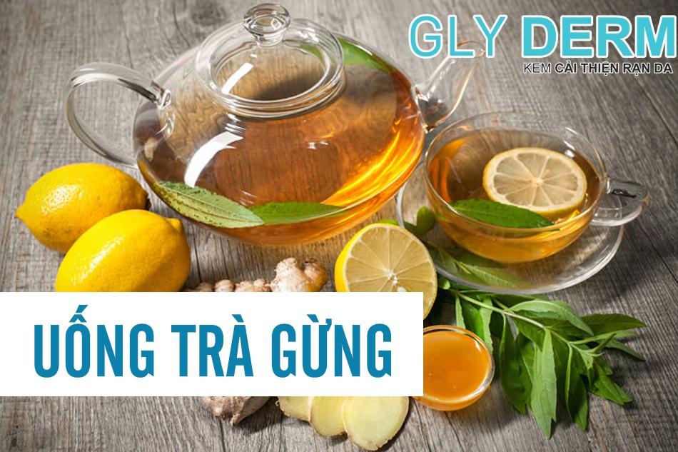 Uống trà gừng mỗi ngày có thể làm quá trình lão hoá da của bạn chậm đi phần nào