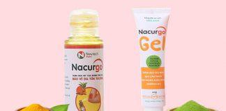 Nacurgo Gel dangj xịt và dạng gel bôi