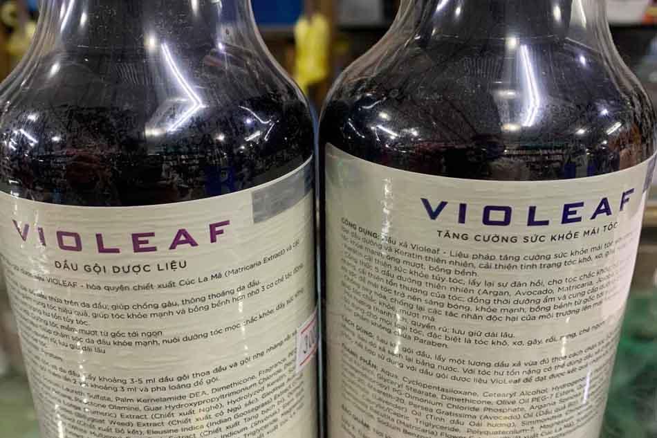 Hướng dẫn sử dụng dầu gội Violeaf