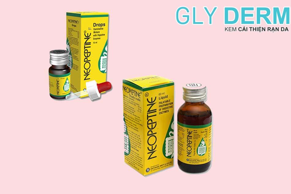 Thuốc hỗ trợ tiêu hóa cho trẻ em Neopeptine