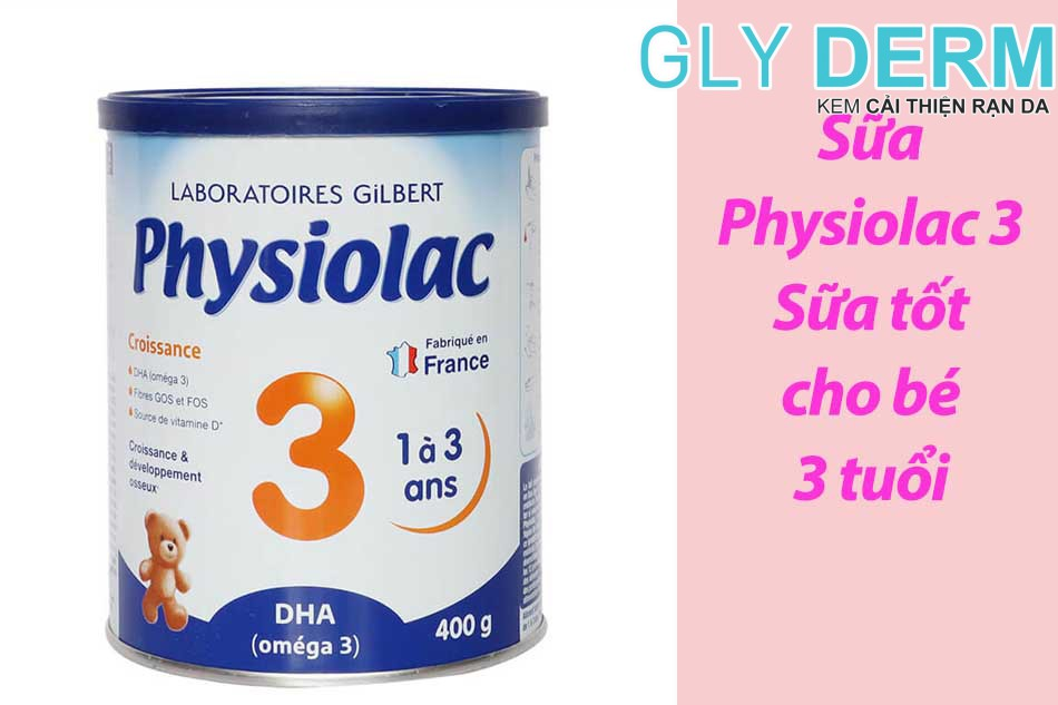 Sữa Physiolac 3 - Sữa tốt cho bé 3 tuổi