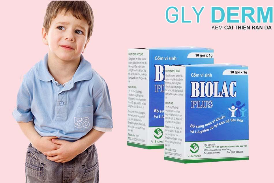 Cốm vi sinh bổ sung men Biolac Plus