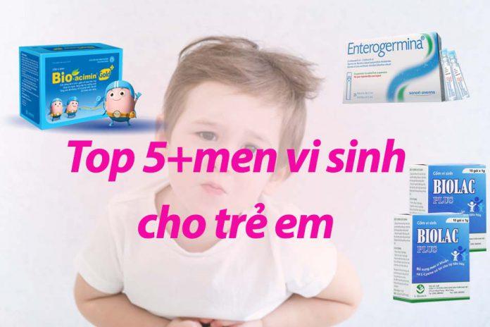 Men tiêu hóa cho trẻ
