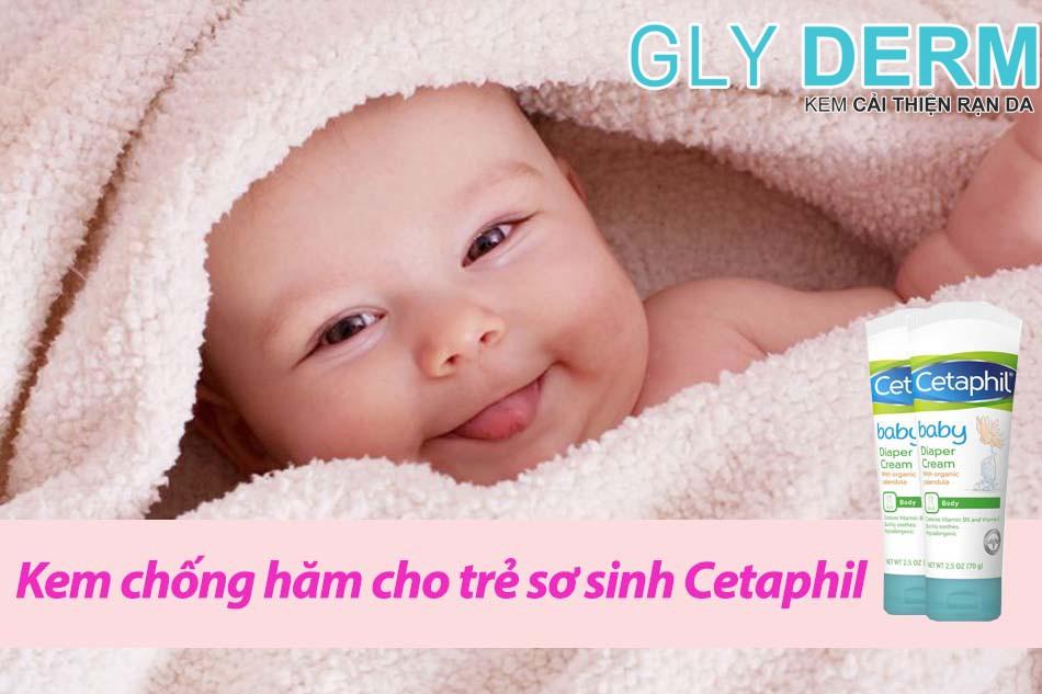 Kem chống hăm cho trẻ sơ sinh Cetaphil