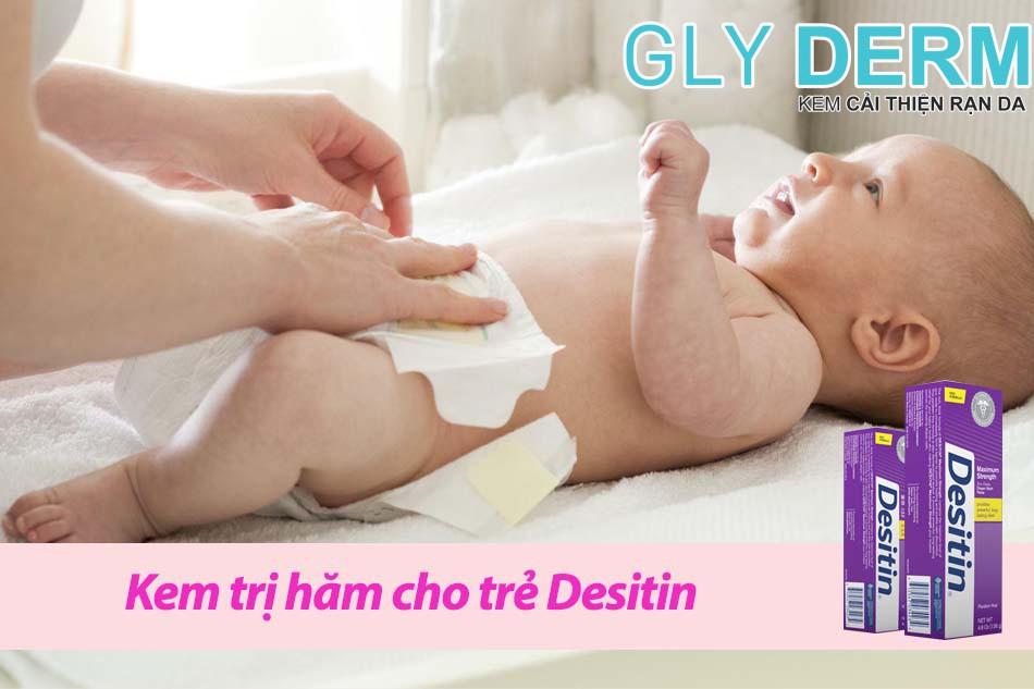 Kem trị hăm cho trẻ Desitin