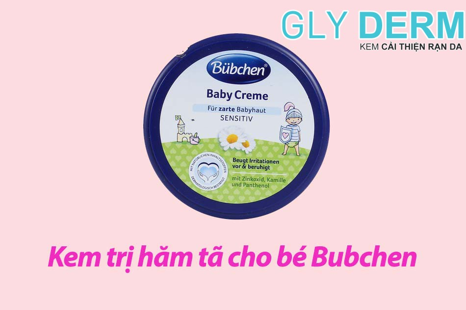Kem trị hăm tã cho bé Bubchen