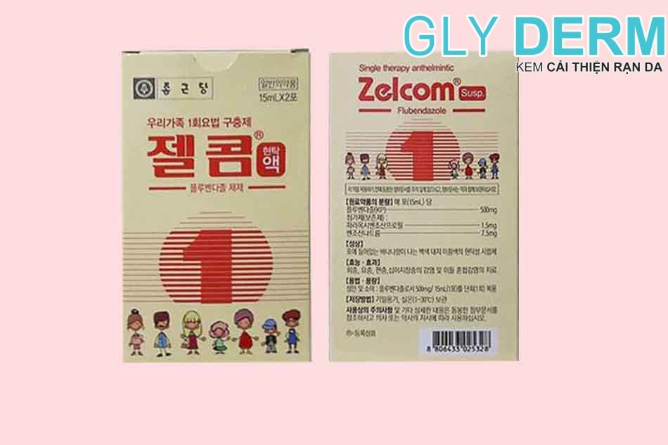 Thuốc tẩy giun cho trẻ 22 tháng Zelcom