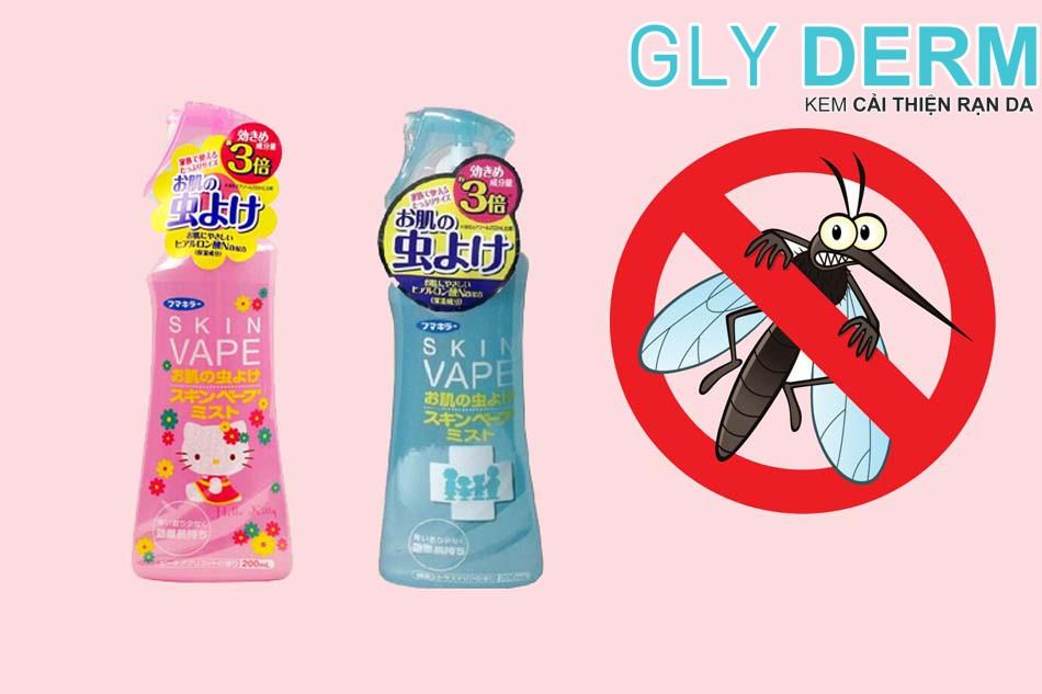 Xịt chống muỗi cho bé Skin Vape