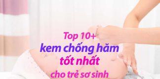 Top kem chống hăm cho trẻ sơ sinh