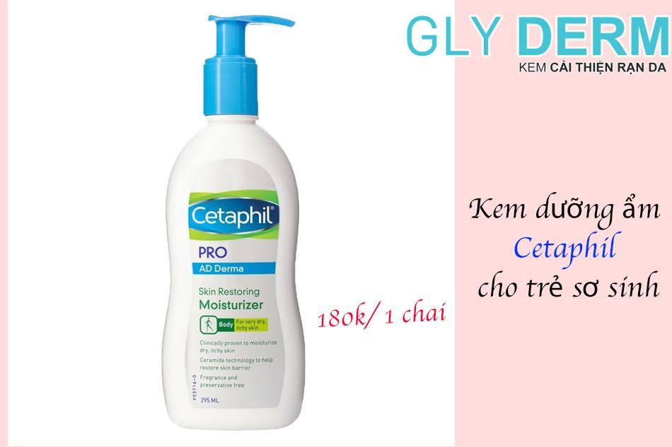 Kem dưỡng ẩm Cetaphil cho trẻ sơ sinh