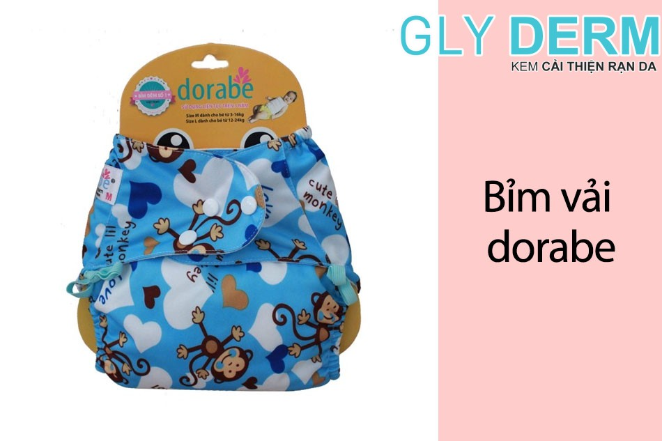 Hình ảnh Bỉm vải Dorabe