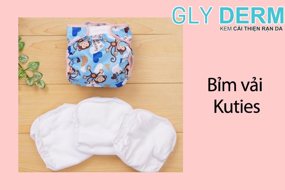Hình ảnh Bỉm vải cho trẻ sơ sinh Kuties