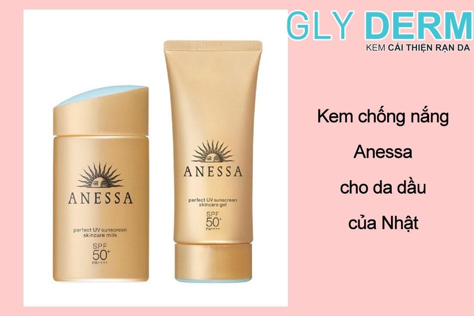 Kem chống nắng Anessa cho da dầu của Nhật