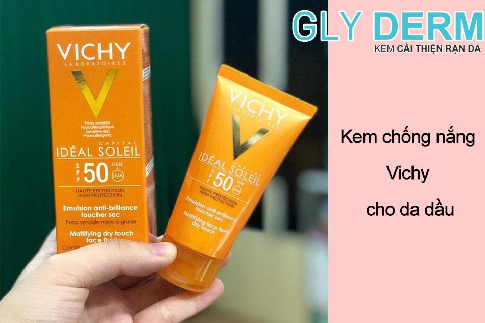 Kem chống nắng Vichy cho da dầu